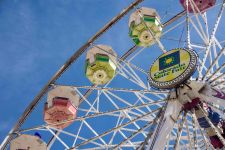 The ferris wheel at the 2018 Colorado State Fair in Pueblo - Photo by Shanna Lewis