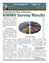 KWMV Enews Winter 2010 -1